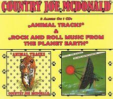 country joe mcdonald - animal tracks - rockn roll ( 1976 )-  digipak edition CD