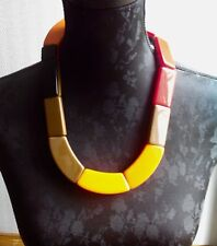 Marni H&M  COLLIER  en Cellulose Acetate - VINTAGE 90 jewelry