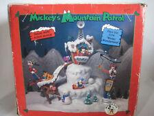 Disney Enesco Mickeys Mountain Patrol Deluxe Multi Action Musical