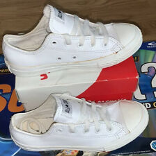 YOUTH UK 1 //US 1.5 //EUR 33// 359798C Converse All Point Star Leather white coral