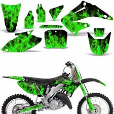 Graphic Kit Honda CR125 CR250 Dirt Bike Decal Backgrounds Sticker 04-08 ICE GREN