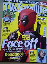 TV & SATELLITE WEEK Magazine, 11 June 2016, Deadpool, England v Wales