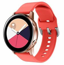Samsung Galaxy Watch 42mm/Active 40mm/Gear Sport Band Soft Waterproof Silicone