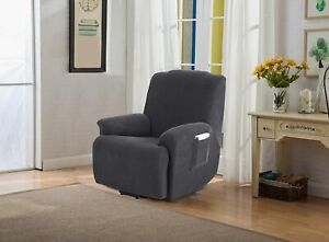 Stretch Recliner Covers,Recliner Chair Slipcovers,1 Piece Furniture Cover for Re