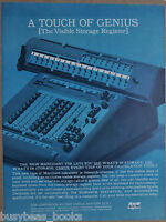 1963 Smith Corona calculator advertisement, Marchant VSR mechanical calculator