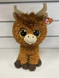 TY Beanie Boo - Angus the Highland Cow - Medium - Limited Edition 28cm