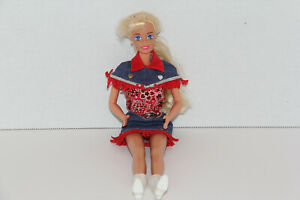 BARBIE WEARING WESTERN RODEO COWBOY FASHION OUTFIT #15858 MATTEL 1996