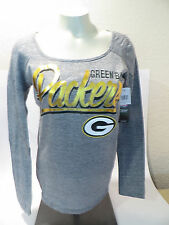 Green Bay Packers NFL Top Jersey Shirt Shiny Womens Size S New