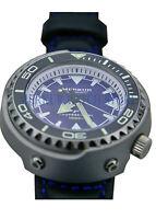 AD20 MERKUR 1000M Monoblock Tuna Can Automatic Pro Diver Dive Mens Vinatge Watch