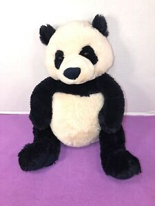 "VGUC-HTF-15"" GUND Zi-Bo Panda Teddy Bear Stuffed Animal Plush"