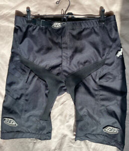 Troy Lee Designs Moto Shorts MTB - 34 Inch Waist - Black