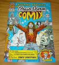 Brain Storm Comix #4 VF- british underground comic - brian bolland  bryan talbot