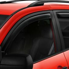 For Ford Crown Victoria 92-11 In-Channel Smoke Front & Rear Window Deflectors
