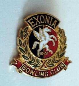 Bowling Badges D to E Free postage in the UK only