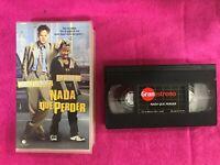 NADA QUE PERDER VHS CINTA TAPE TIM ROBBINS MARTIN LAWRENCE