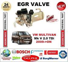 FOR VW MULTIVAN Mk V 2.0 TDi 2009-ON Electric EGR VALVE with EGR WATER COOLER