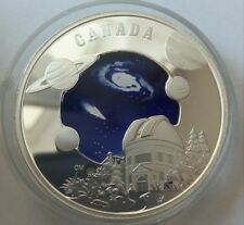Canada 30 dollars 2009 Year of Astronomy space Silver 33.7 gr  №2