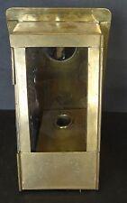 Handlampe, Messingblech, H-20 cm, B-13 cm    (249/11027)