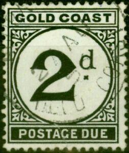 Gold Coast 1951 2d Black SGD5 Fine Used