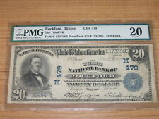 1902 $20 Twenty Dollar National Bank Note PMG 20 VF