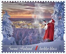 Christmas Santa Claus The Magic of Christmas Special Stamp Lapland Finland 2014
