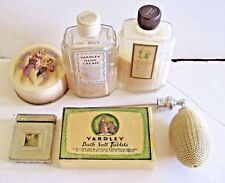 Lot of 6 Vintage Yardley London England Toiletries Vanity Some New Old Stock