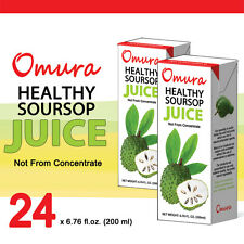 Omura SOURSOP GRAVIOLA JUICE 6.75 oz, Pack of 24