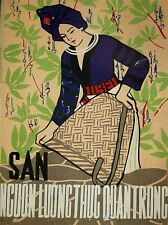 PROPAGANDA VIETNAM WAR CASSAVA FOOD WOMEN LARGE POSTER ART PRINT BB2777A