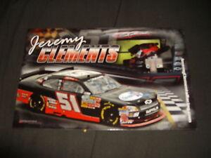 2011 JEREMY CLEMENTS #51 CO-OPS USA NASCAR POSTCARD