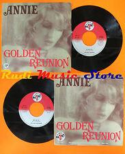 LP 45 7'' GOLDEN REUNION Annie Brain 1977 italy BABY RECORDS BR 038 cd mc dvd(*)