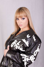 Jean Claude Jitrois Signature Lady Gaga Leather Motorcycle Jacket