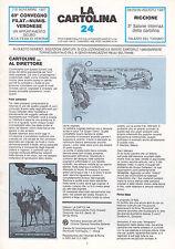 LA CARTOLINA N.24 - Rivista 1987 - Cartofilia Torino Buffalo Bill Beltrame