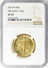 2016-W Walking Liberty Gold 100th anniversary NGC SP69