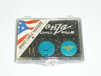 Onza Chill Pill Brake Cable Hanger Set Turquoise Yeti Grafton Ringle Vintage MTB