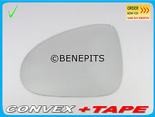 Left Side Wing Mirror Glass VOLKSWAGEN TOUAREG 2010-2016 + STRONG TAPE #411