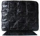 Wallet Man Bifold GENUINE REAL CROCODILE Alligator Backbone Leather Skin