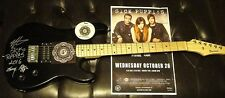 SICK PUPPIES ~ SIGNED By The Band 2016 Guitar ~ Proof Documents & Pics