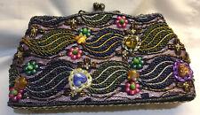 Beautiful Embellished BUTLER & WILSON Multicoloured Beaded Evening Bag