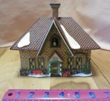 "Dept 56 Heritage Village Collection New England Village ""Apple Valley School"""