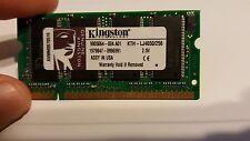 Kingston PC-2100 256 MB SO-DIMM 266 MHz DDR SDRAM Memory (KTH-LJ4650/256)