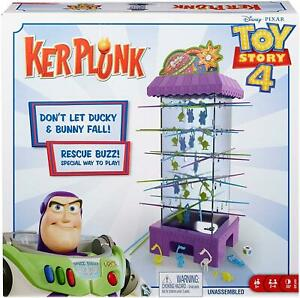 Disney Pixar Toy Story 4 Kerplunk Family Friendly Interactive Party Game CHOP