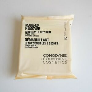 Comodynes Makeup Remover Wipes with Oats (Sensitive Skin) (20 wipes)