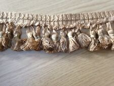 JOHN LEWIS - TASSLE TRIMMING, GOLD, SOLD BY THE METRE.