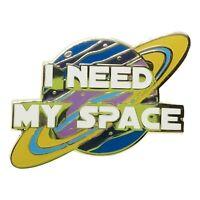 Stickeroonie Lapel Pin I Need My Space Enamel Pins Galaxy Planet Solar System