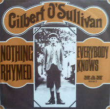 "7"" 1970 RARE VG++! GILBERT O´SULLIVAN : Nothing Rhymed"