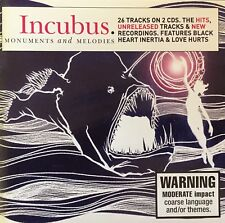 INCUBUS Monuments And Melodies 2CD Set Brand New And Sealed