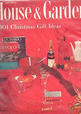 NOVEMBER 1955 HOUSE & GARDEN MAGAZINE- 1001 CHRISTMAS GIFT IDEAS-RARE