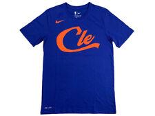 Nike Mens Dri-Fit Cleveland Cavaliers City Edition Shirt Blue/Orange AA6661 New