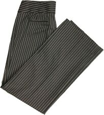 Chico's Women Pinstripe Dress Pants Work Slacks Brown Size 1.5