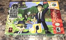 NINTENDO 64 - BLUES BROTHERS 2000 Game COMPLETE New FACTORY SEALED V-Seam N64